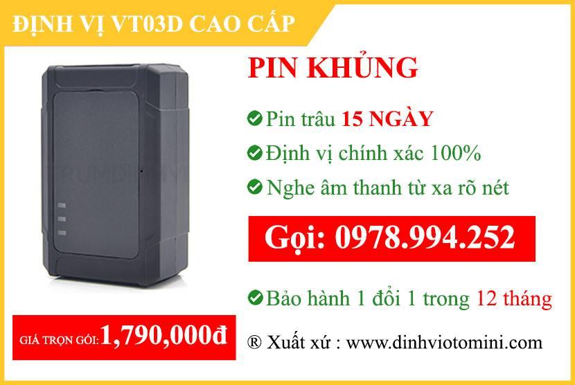 định vị không dây VT03D