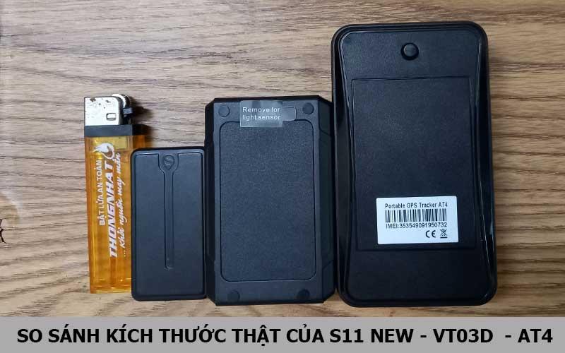 So sánh kích thước thật của S11 - VT03D - AT4